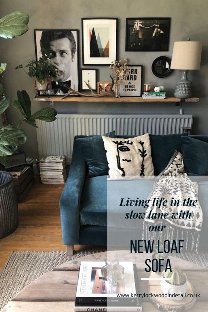 Living life in the slow lane with our new Loaf sofa