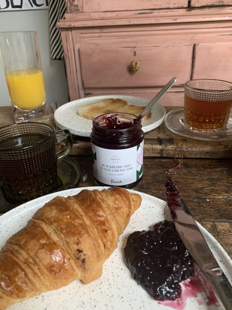 Fenwick Blackberry and blackcurrant jam