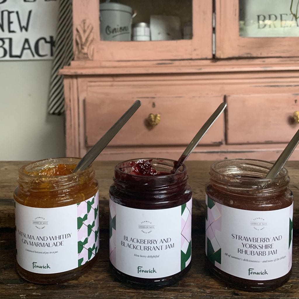Fenwick own label jam and marmalade