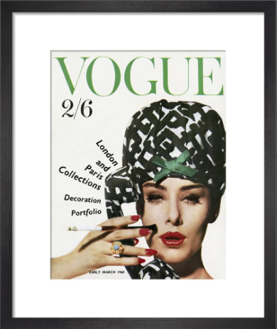 Vogue early March 1960 by Claude Virgin.